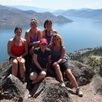 Hiking at Pincushion in Peachland