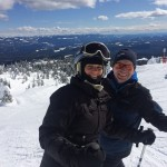 Enjoying my season pass at Big White with Friends, Winter 2015-2016
