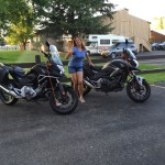 I love riding my motorcycle