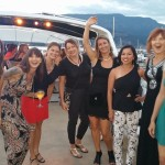 Dancing with my friends and Zumba participants on one of the Latin Cruises, summer 2016