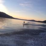 I love water skiing!