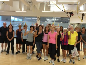 some members of my Zumba class