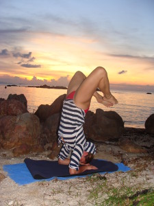 Yoga in Ko Phangan, Thailand